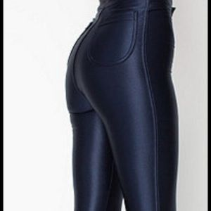 Sexy af Midnight Navy American Apparel Disco Pants